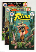 Bronze Age (1970-1979):Miscellaneous, Rima The Jungle Girl #1-7 Group (DC, 1974-75) Condition: AverageVF. Issues #1, 2, 3, 4, 5, 6, and 7 (the title's full run) ...(Total: 7 Comic Books Item)