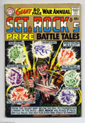 Silver Age (1956-1969):War, Sgt. Rock's Prize Battle Tales Annual Group (DC, 1964). This group includes Sgt. Rock's Prize Battle Tales #nn (VG/FN) and E... (Total: 2 Comic Books Item)