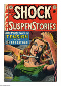 Golden Age (1938-1955):Horror, Shock SuspenStories #8 (EC, 1953) Condition: VF-. Al Feldsteincover. Wally Wood, Jack Kamen, Al Williamson, and George Evan...