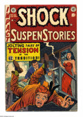 Golden Age (1938-1955):Horror, Shock SuspenStories #10 (EC, 1953) Condition: VG+. Jack Kamencover. Wally Wood, Marie Severin, Joe Orlando, and Reed Cranda...