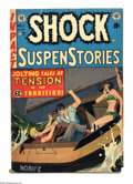 Golden Age (1938-1955):Horror, Shock SuspenStories #11 (EC, 1953) Condition: VG+. Johnny Craigcover. Craig, Wally Wood, Reed Crandall, and Jack Kamen art....