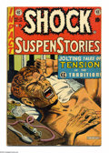 Golden Age (1938-1955):Horror, Shock SuspenStories #12 (EC, 1953) Condition: VG. Anti-drug issuewith junkie cover and story. Al Feldstein cover. Wally Woo...