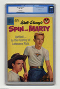 Silver Age (1956-1969):Adventure, Spin and Marty #8 (Dell, 1959) CGC VF+ 8.5 Off-white pages. Photo cover. Overstreet 2004 VF 8.0 value = $60; VF/NM 9.0 value...