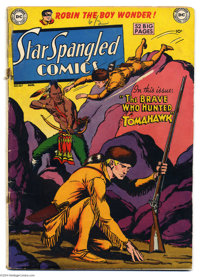 Star Spangled Comics #107 (DC, 1950) Condition: GD+. Fred Ray cover. Ray, Curt Swan, Paul Norris, and Jim Mooney art. Ta...