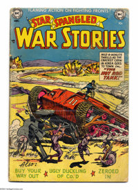 Star Spangled War Stories #4 (DC, 1952) Condition: FR/GD. Curt Swan cover. Swan and Ramona Fradon art. Overstreet 2004 G...