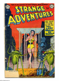 Golden Age (1938-1955):Science Fiction, Strange Adventures #23 (DC, 1952) Condition: GD. Murphy Andersoncover. Anderson, Bob Oksner, and Carmine Infantino art. Ove...
