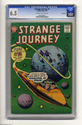 Silver Age (1956-1969):Horror, Strange Journey #4 Bethlehem pedigree (America's Best (SteinwayPubl.), 1958) CGC FN+ 6.5 Off-white to white pages. This is ...