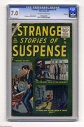 Silver Age (1956-1969):Horror, Strange Stories of Suspense #8 Bethlehem pedigree (Atlas, 1956) CGC FN/VF 7.0 Off-white to white pages. Bill Everett cover. ...