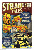 Silver Age (1956-1969):Horror, Strange Tales #76 (Marvel, 1960) Condition: VG. Jack Kirby cover.Kirby, Don Heck, and Steve Ditko art. Overstreet 2004 VG 4...
