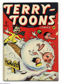 Golden Age (1938-1955):Funny Animal, Terry-Toons Comics #6 (Timely, 1943) Condition: VG. Overstreet 2003VG 4.0 value = $70....