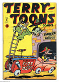Golden Age (1938-1955):Funny Animal, Terry-Toons Comics #8 (Timely, 1943) Condition: FN+. Overstreet2003 FN 6.0 value = $105....