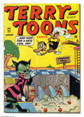 Golden Age (1938-1955):Funny Animal, Terry-Toons Comics #11 (Timely, 1943) Condition: FN. Overstreet2003 FN 6.0 value = $66....