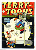 Golden Age (1938-1955):Funny Animal, Terry-Toons Comics #16 (Timely, 1943) Condition: VG. Overstreet2003 VG 4.0 value = $44....