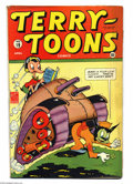 Golden Age (1938-1955):Funny Animal, Terry-Toons Comics #19 (Timely, 1944) Condition: VG/FN. Overstreet2003 VG 4.0 value = $44; FN 6.0 value = $ 66....