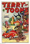 Golden Age (1938-1955):Funny Animal, Terry-Toons Comics #21 (Timely, 1944) Condition: FN. Overstreet2003 FN 6.0 value = $45....