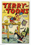 Golden Age (1938-1955):Funny Animal, Terry-Toons Comics #24 (Timely, 1944) Condition: FN/VF. Overstreet2003 FN 6.0 value = $45; VF 8.0 value = $86....