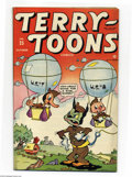 Golden Age (1938-1955):Funny Animal, Terry-Toons Comics #25 (Timely, 1944) Condition: FN/VF. OverstreetFN 6.0 value = $45; VF 8.0 value = $86....