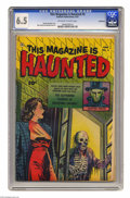 Golden Age (1938-1955):Horror, This Magazine Is Haunted #5 Bethlehem pedigree (Fawcett, 1952) CGCFN+ 6.5 Off-white to white pages. Sheldon Moldoff cover. ...