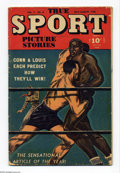 Golden Age (1938-1955):Non-Fiction, True Sport Picture Stories Group (Street & Smith, 1946-47)Condition: GD-. This group includes V3#8 (with a preview of theB... (Total: 2 Comic Books Item)