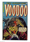 Golden Age (1938-1955):Horror, Voodoo #12 (Farrell, 1953) Condition: VG/FN. Overstreet 2004 VG 4.0value = $56; FN 6.0 value = $84....