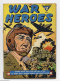 Golden Age (1938-1955):War, War Heroes #5 Big Apple pedigree (Dell, 1943) Condition: VG/FN. General George Patton cover appearance. Overstreet 2004 VG 4...