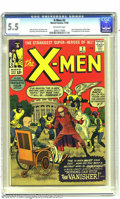 Silver Age (1956-1969):Superhero, X-Men #2 (Marvel, 1963) CGC FN- 5.5 Off-white pages. The firstappearance of the Vanisher, and the second appearance of the ...