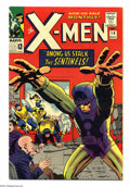 Silver Age (1956-1969):Superhero, X-Men #14 (Marvel, 1965) Condition: VF-. First appearance of theSentinels. Jack Kirby art. Overstreet 2004 VF 8.0 value = $...