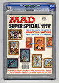 """Magazines:Mad, Mad Super Special #29 Gaines File pedigree (EC, 1979) CGC NM 9.4Off-white to white pages. Includes eight pairs of """"Mad Coll..."""