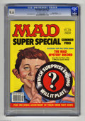 """Magazines:Mad, Mad Super Special #31 Gaines File pedigree (EC, 1980) CGC NM+ 9.6Off-white to white pages. Includes the """"Mad Mystery Record..."""