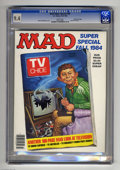 Magazines:Mad, Mad Super Special #48 Gaines File pedigree (EC, 1984) CGC NM 9.4White pages. TV issue. Richard Williams cover. Overstreet 2...