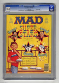 """Magazines:Mad, Mad Super Special #52 Gaines File pedigree (EC, 1985) CGC VF/NM 9.0White pages. """"Super Stars Volume One"""" is the issue's the..."""