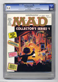 """Magazines:Mad, Mad Super Special #76 Gaines File pedigree (EC, 1991) CGC NM 9.4White pages. Entitled """"Collector's Series #1,"""" this issue i..."""