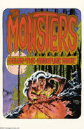 Original Comic Art:Miscellaneous, Berni Wrightson - The Monsters Color the Creature Book Portfolio(Phil Seuling, 1974). A series of 16 high quality black and...