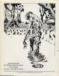 Original Comic Art:Miscellaneous, Bernie Wrightson - Apparitions (Sal Q. Productions Inc., 1978). Theportfolio contains four full color plates, and a black a...