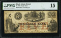 Obsoletes By State:Rhode Island, Bristol, RI- Eagle Bank $5 January 1, 1851 PMG Choice Fine 15 UNL.. ...