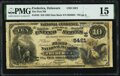 National Bank Notes:Delaware, Frederica, DE - $10 1882 Date Back Fr. 545 The First National Bank Ch. # (E)5421 PMG Choice Fine 15.. ...
