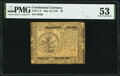 Continental Currency May 10, 1775 $5 PMG About Uncirculated 53