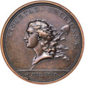 Colonials, (1781) Medal Libertas Americana Medal, Copper -- Burnished -- NGC Details. AU. Loubat-14, Betts-615....