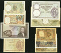 Algeria, Comoros, Tunisia & More Group Lot of 9 Examples Good-Extremely Fine. ... (Total: 9 notes)