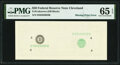 Error Notes:Missing Face Printing (100%), Second Print Missing Error Fr. ???? $20 ???? Federal Reserve Note. PMG Gem Uncirculated 65 EPQ.. ...