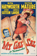 """Movie Posters:Musical, My Gal Sal (20th Century Fox, 1942). Folded, Fine+. One Sheet (27"""" X 41""""). Musical.. ..."""