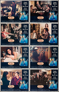 """St. Ives & Other Lot (Warner Bros., 1976). Overall: Very Fine-. Lobby Card Set of 8 (2 Sets) (11"""" X 14"""")..."""