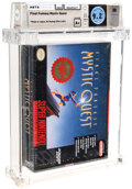Video Games:Nintendo, Final Fantasy Mystic Quest - Wata 9.2 A+ Sealed [Introductory Price Sticker], SNES Squaresoft 1992 USA. ...