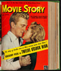 "Movie Posters:Miscellaneous, Movie Story Magazine (Fawcett Publications, 1950). Fine/Very Fine. Bound Magazines Volume (Multiple Pages, 8.5"" X 11.5""). Mi..."