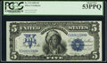 Large Size:Silver Certificates, Fr. 274 $5 1899 Silver Certificate PCGS About New 53PPQ.. ...