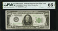 Small Size:Federal Reserve Notes, Fr. 2202-B $500 1934A Federal Reserve Note. PMG Gem Uncirculated 66 EPQ.. ...