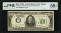 Small Size:Federal Reserve Notes, Fr. 2202-F $500 1934A Federal Reserve Note. PMG Choice About Unc 58 EPQ.. ...