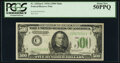 Small Size:Federal Reserve Notes, Fr. 2202-C $500 1934A Federal Reserve Note. PCGS About New 50PPQ.. ...