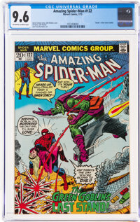 The Amazing Spider-Man #122 (Marvel, 1973) CGC NM+ 9.6 Off-white to white pages