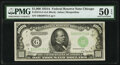 Small Size:Federal Reserve Notes, Fr. 2212-G $1,000 1934A Federal Reserve Note. PMG About Uncirculated 50 EPQ.. ...
